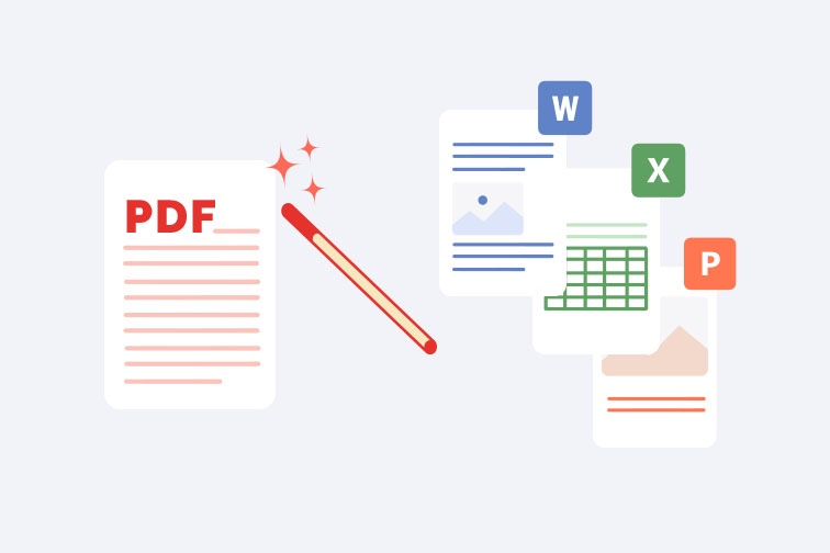 How to convert PDF to Office