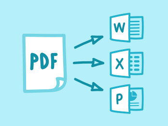 Convert PDF to Office