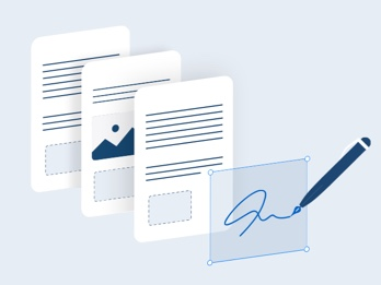 How to digitally sign a PDF document