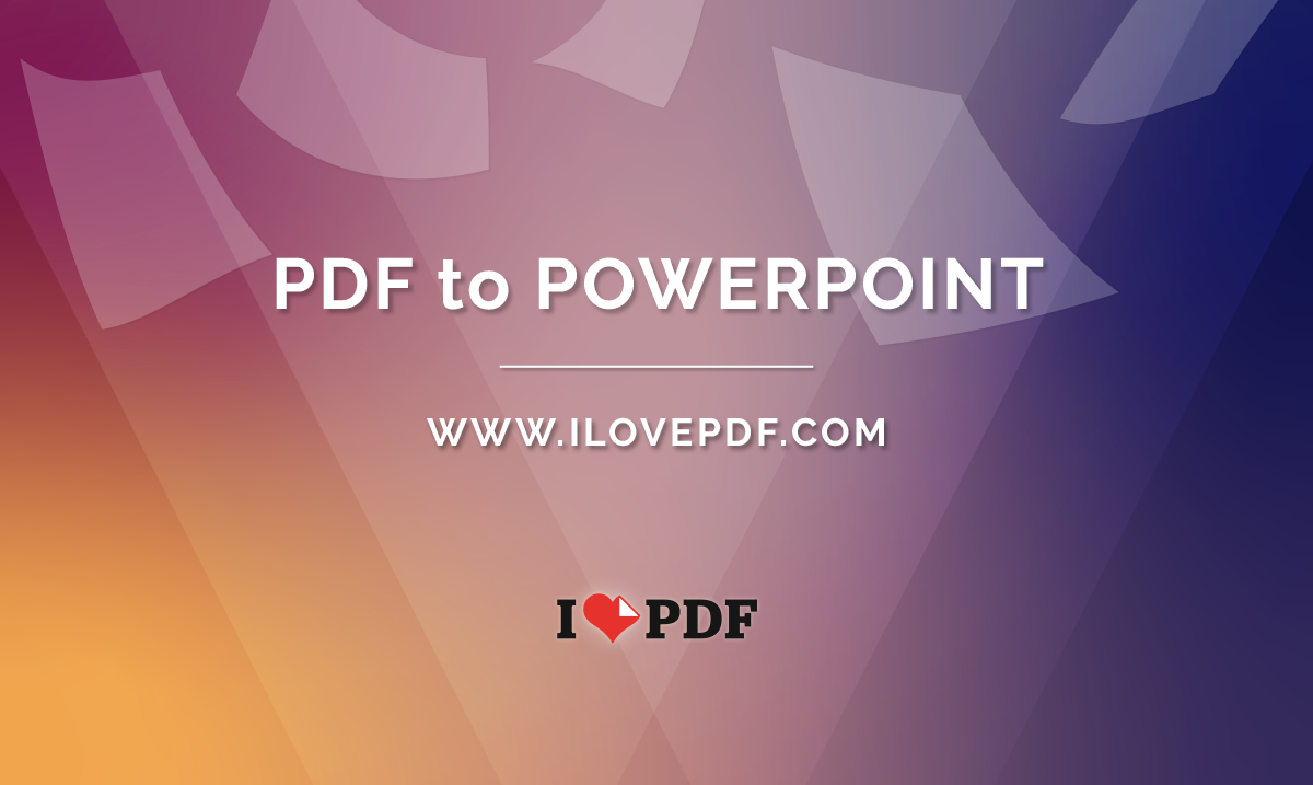 Convert PDF to Powerpoint  PDF to PPT slides online