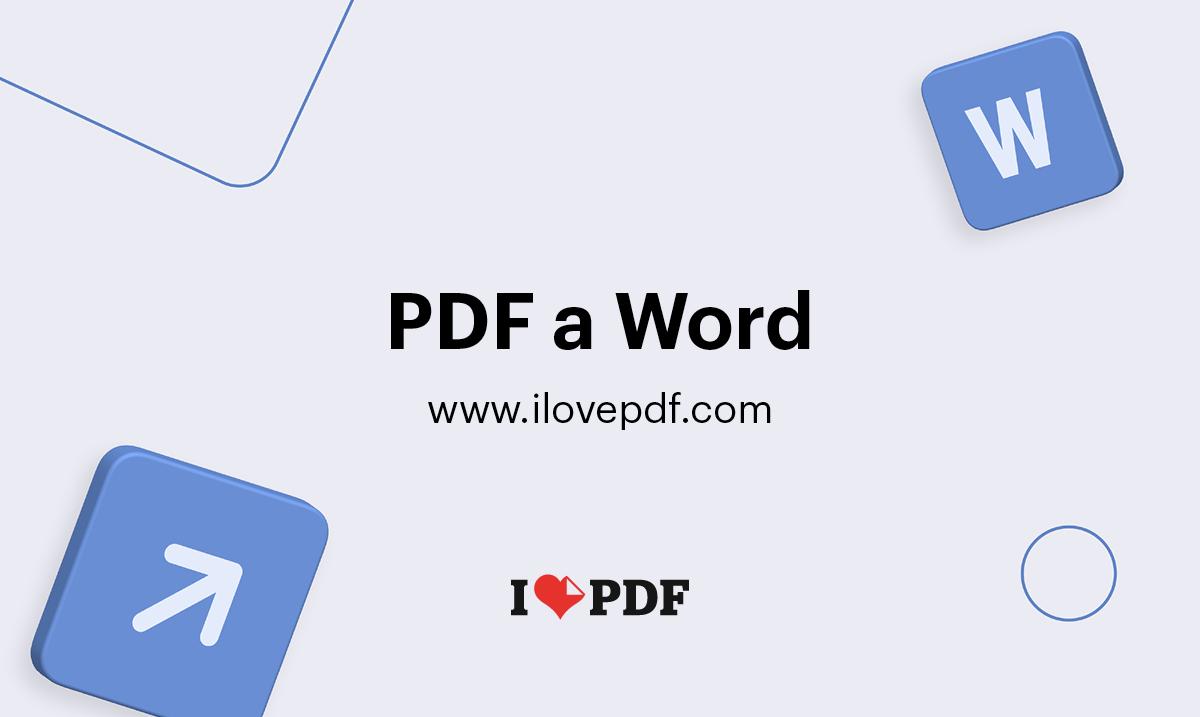 Convierte Tus Pdf A Word Editable