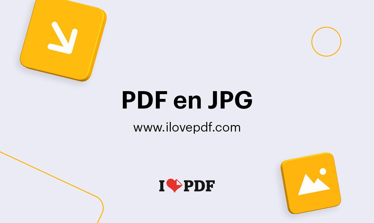 Convertissez Des Pdf En Jpg Extraire Des Images A Partir D Un Pdf