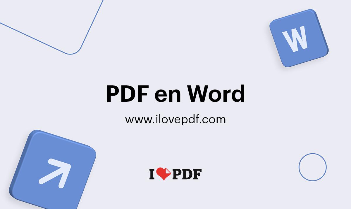 convertisseur pdf vers word en ligne gratuit
