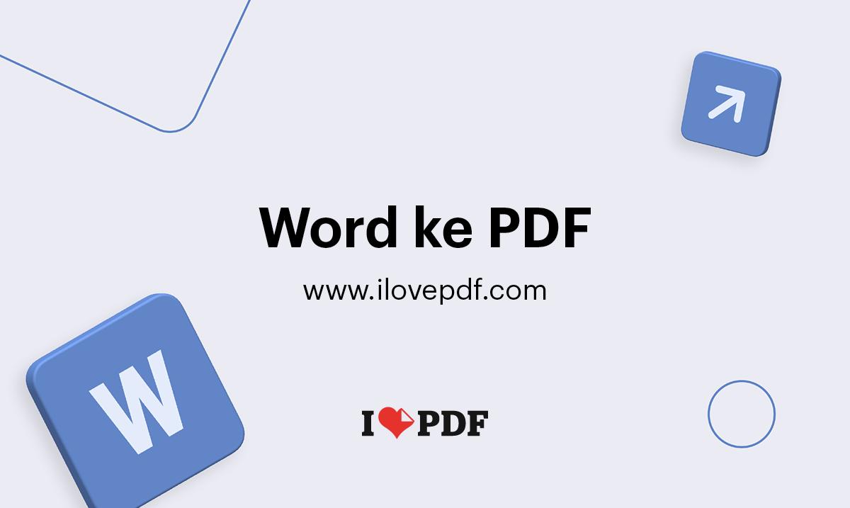 Konversi Word Ke Pdf Dokumen Doc Ke Pdf