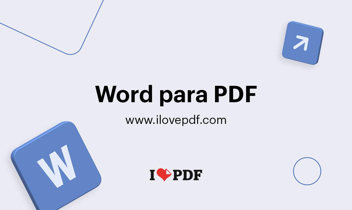 Passar Word Para Pdf